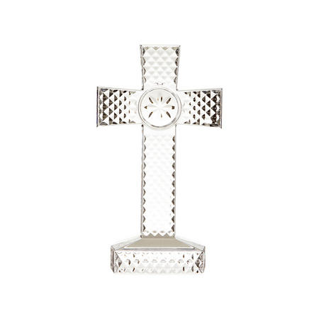 Collectables Standing Cross Clear