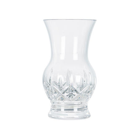 Plum Elmer Vase Clear