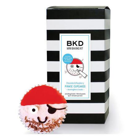 Pirate Cupcake Baking Kit Multicolour