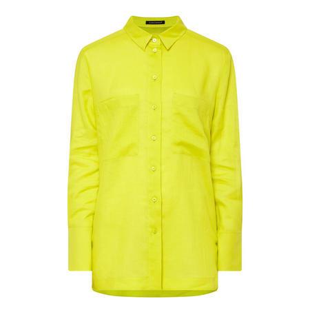 Double Pocket Shirt Green
