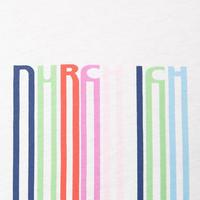 Stripe Letter T-Shirt Multicolour