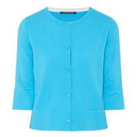 Button-Down Cardigan Blue