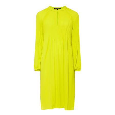 Ribbed Long Sleeve Dress Green