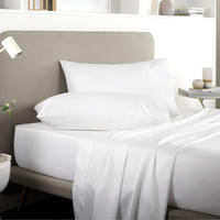 Tencel Fitted Sheet White