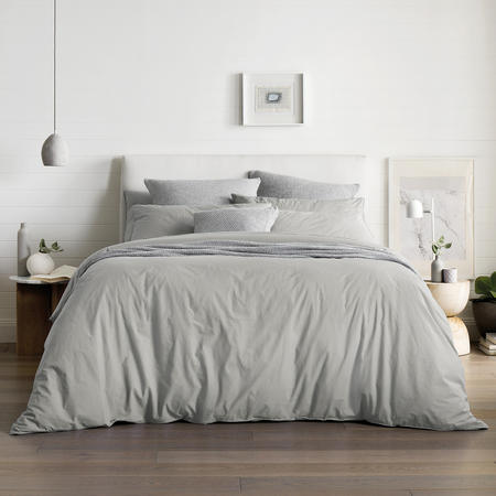 Nashe Duvet Cover Set Fog