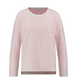 Seam Detail Sweater Pink