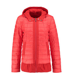 Quilted Jacket Red