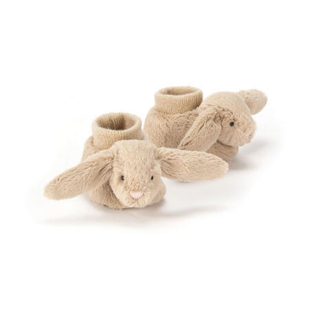 Bashful Bunny Booties Beige