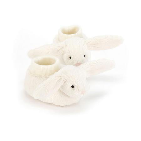 Bashful Bunny Booties Cream
