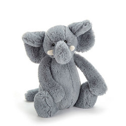Bashful Elephant 20 cm Grey