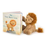The Very Brave Lion Book Multicolour