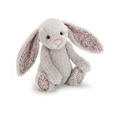 Blossom Bunny Silver-Tone