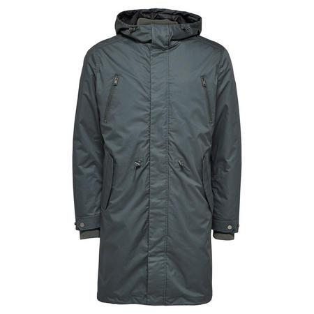 Clash Parka Coat Green