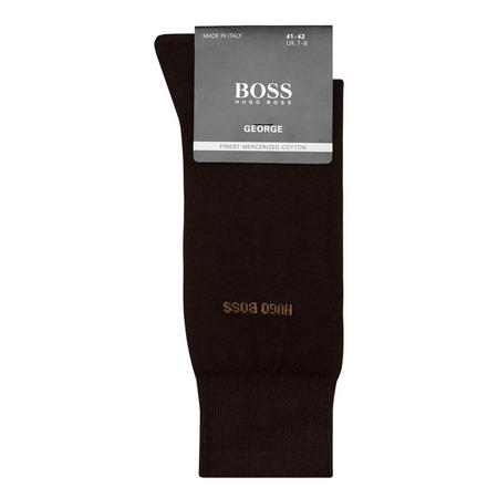 William Merino Wool Socks Blue