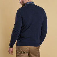 Lambswool Crew Neck Sweater Blue