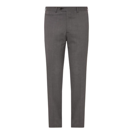 Lucas Eye-and-Hook Trousers Grey