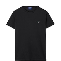 Classic Solid T-Shirt Black
