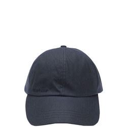 Waxed Sports Cap Blue