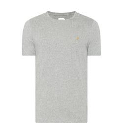 Denny Slim Fit T-Shirt Grey