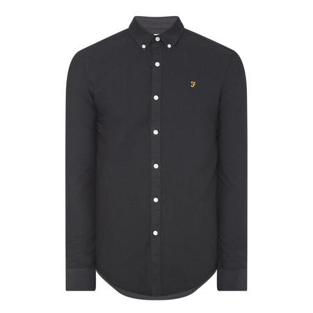 Brewer Slim Fit Shirt Navy