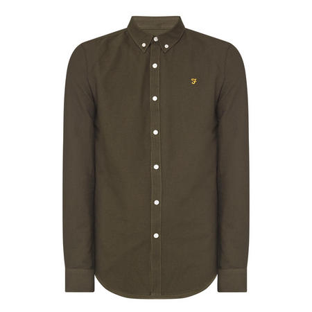 Brewer Slim Fit Shirt Green