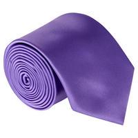 Uomo Microfibre Tie Purple