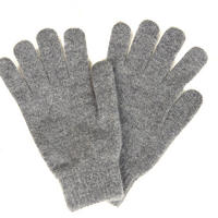 Scarf and Gloves Gift Set Grey