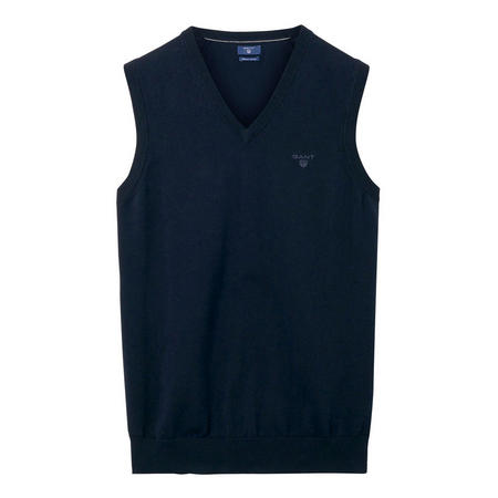 Lightweight Cotton Slipover Navy