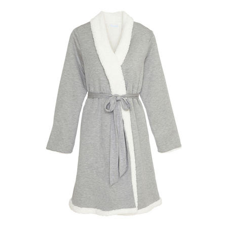 Alpine Chic Robe Grey