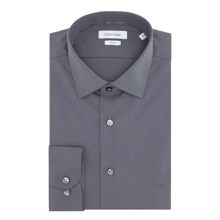 Cannes Fitted Shirt Grey