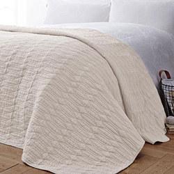 Simplicity Bedspread Cream