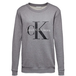 Classic Crew Neck Sweater Grey
