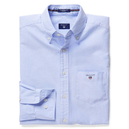 Solid Oxford Shirt Navy
