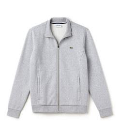 Zip-Up Fleece Sweat Top