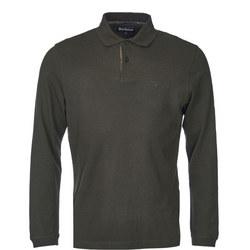 Long Sleeve Polo Shirt Green