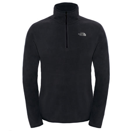 Glacier 1/4 Zip Fleece Black