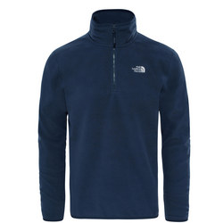 Glacier 1/4 Zip Fleece Blue
