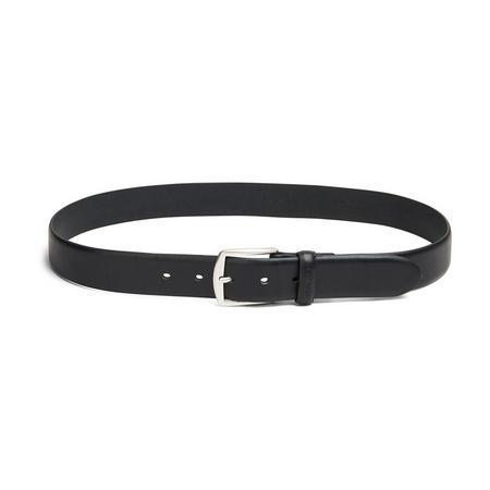 Classic Leather Belt Black