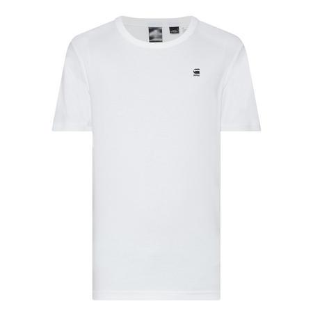 Dap Logo Crew Neck T-Shirt White