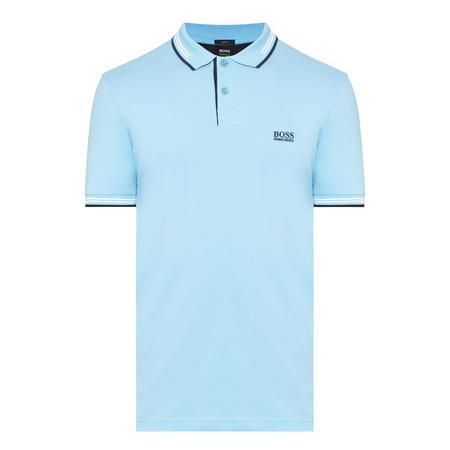 Slim Fit Polo Shirt Blue