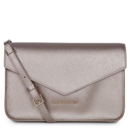 Adeline Flap Top Crossbody Bag Metallic