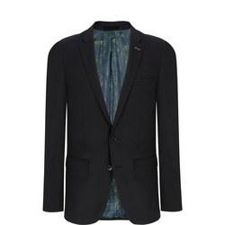 Extra Slim Wool Jacket Black