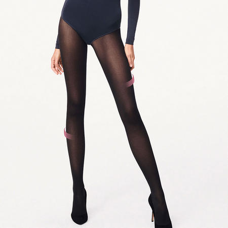 Travel Leg Support Tights Black