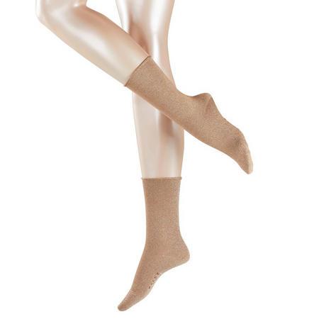 Shiny Socks Gold-Tone