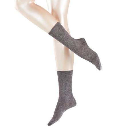 Shiny Socks Brown