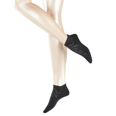 Leafnut Sneaker Socks Black
