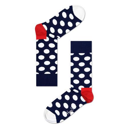 Big Dot Socks Blue