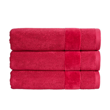 Prism Towel Very Berry Red