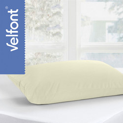 Standard Pillow Protector Cream