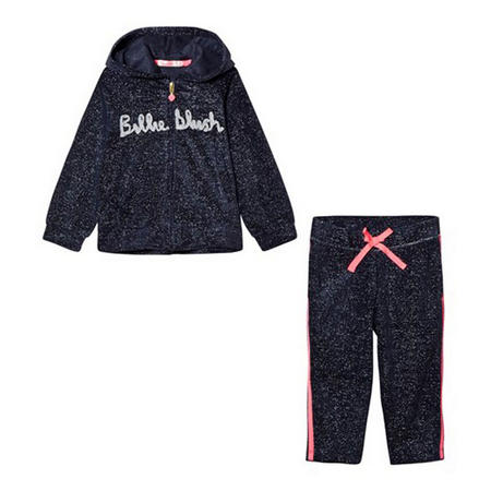 Girls Casual Tracksuit Blue